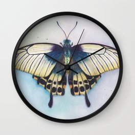 Butterfly Prayer Wall Clock