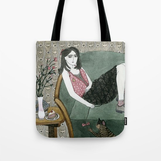 Cozy Chair Tote Bag