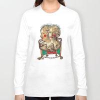 golden girls Long Sleeve T-shirts featuring Girls by R. Gorkem Gul