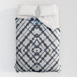 Diamonds Indigo Comforters