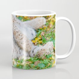 Playful Lynx Coffee Mug