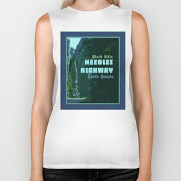 Enchanted Needles Highway Retro Travel Biker Tank