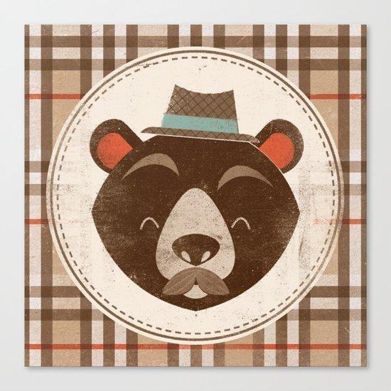 Uncommon Creatures - Bear Canvas Print