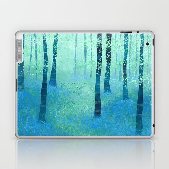 Bluebells, Challock Laptop & iPad Skin