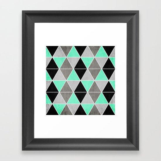 IceGeo Framed Art Print