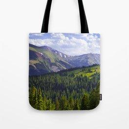 Continental Haze Tote Bag