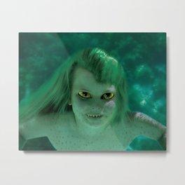 Young Jenny Greenteeth Metal Print