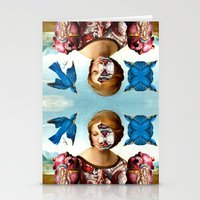 madonna Stationery Cards featuring Madonna by DIVIDUS