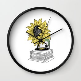 Singing in the sun Wall Clock