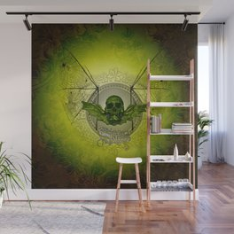 Awesome skull Wall Mural