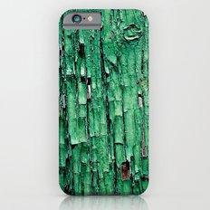 Green Paint iPhone 6s Slim Case