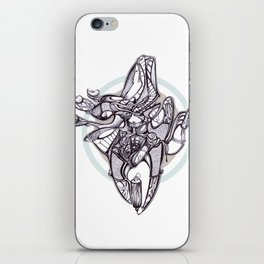 Assembly line iPhone Skin