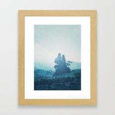Mist under Uniki Framed Art Print