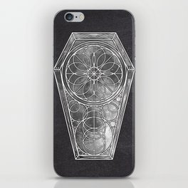 Sacred Geometry Dreamstate - Moon iPhone Skin