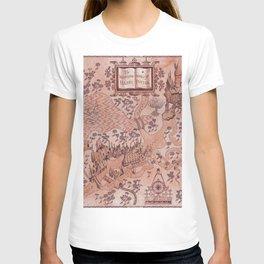wizarding world of harrypotter map T-shirt