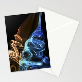 Smoke, fire and ice Stationery Cards