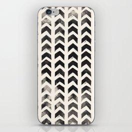 Black Hand-Drawn Arrows iPhone Skin
