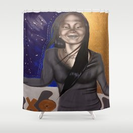 Beautiful Human _D Shower Curtain
