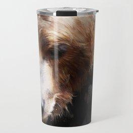 Bear // Gold Travel Mug