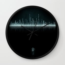 TRON CITY Wall Clock