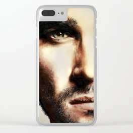 Determination Clear iPhone Case