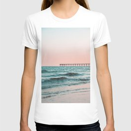 Beach Pier Sunrise T-shirt