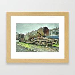 Warwell Boiler Framed Art Print