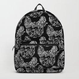 Botanical frenchie Backpack