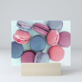 Berry Macarons Photograph Mini Art Print