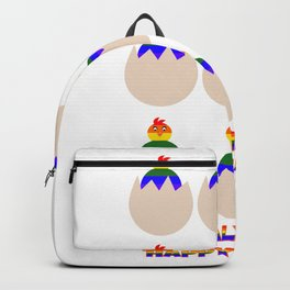 LGBT Easter Chickens Backpack