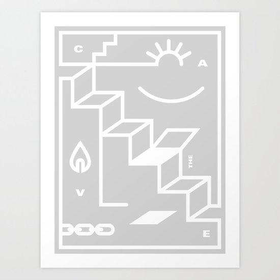 The Cave Art Print