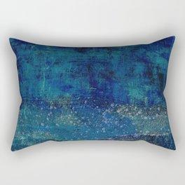 Turquoise Canyon Rectangular Pillow