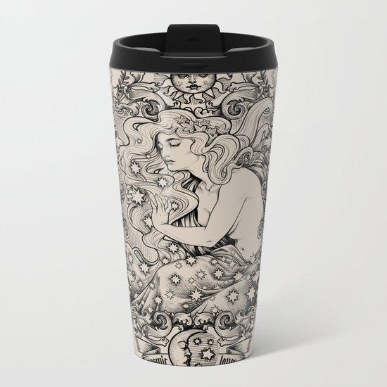 Cosmic Lover Metal Travel Mug