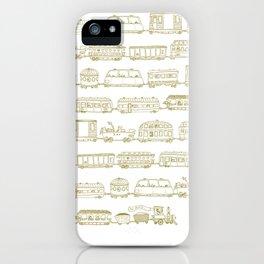 Marco's train - Bronze iPhone Case