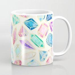 Watercolor Gems Intense Coffee Mug