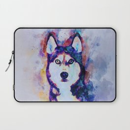 Tika'ani our Siberian Husky Laptop Sleeve