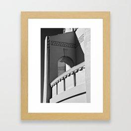 Griffith Arch Framed Art Print