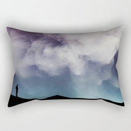 Present Tense Rectangular Pillow