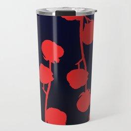 Cotton flower abstract Travel Mug