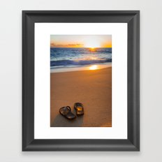 Time to relax... Framed Art Print