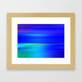 Night light abstract Framed Art Print