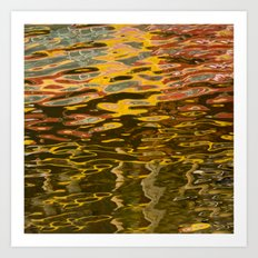 COLORFUL REFLECTION Art Print