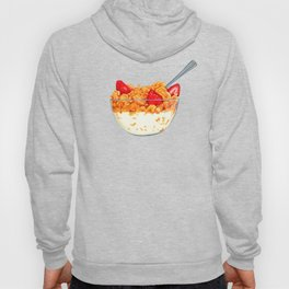 Cereal Pattern Hoody