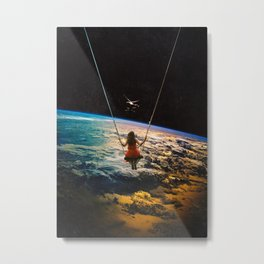 Being Lead Metal Print