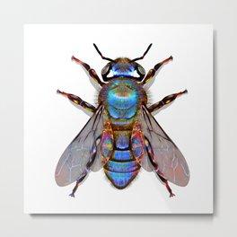 Bee Cold Metal Print