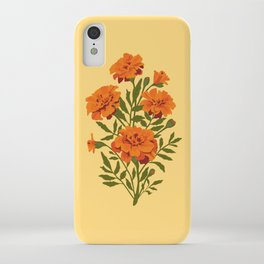 Marigold Flowers iPhone Case