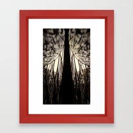 Mixed Shapes and Shadows Framed Art Print