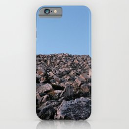 Medicine Bow Boulder Field iPhone Case