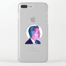 Fix Your Hearts or Die People Clear iPhone Case
