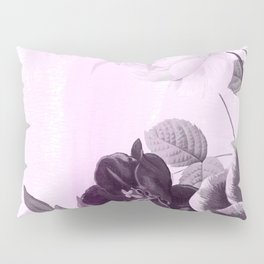 poenies in pink and purple Pillow Sham